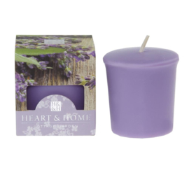 Heart & Home votive candle 52gr Lavender & Sage