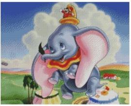 Diamond Painting Miss Coccinelle  Dumbo 40x50