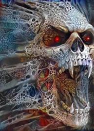 Diamond Painting Miss Coccinelle  Skull 50x70