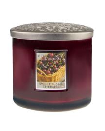 Heart & Home Sweet Black Cherries ellips 230gr 2 lonten