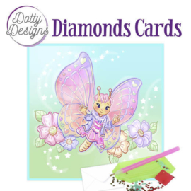 Diamond Painting kaart Butterfly