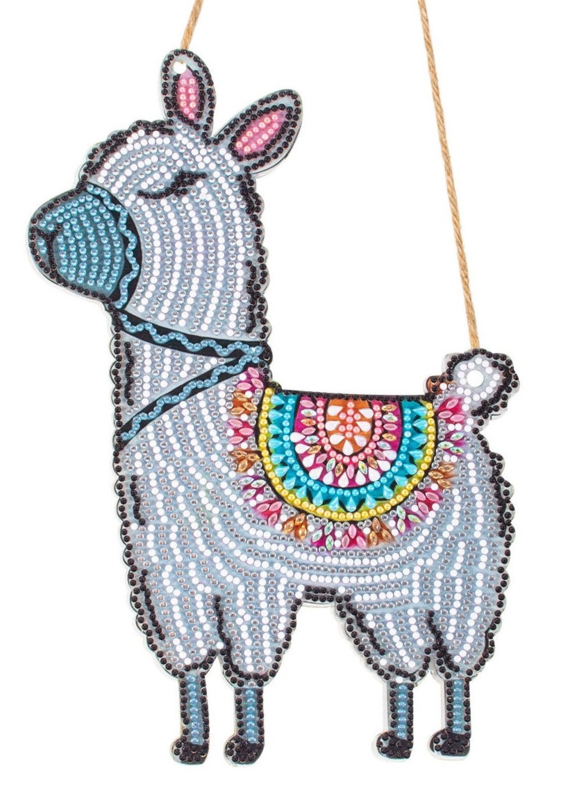 Diamond Painting Hanger Lama