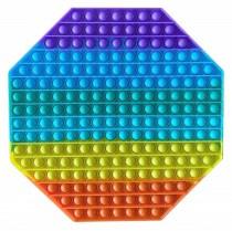 POP-IT Fidget Rage Game TIK TOK Hype vierkant 8-hoek 30cm XXL