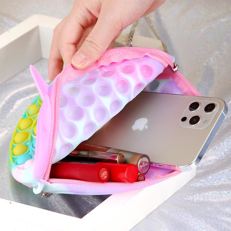 POP-IT Fidget Rage Game TIK TOK Hype handtasje met Rendier oortjes
