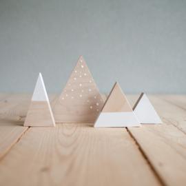 Set houten bergen 12