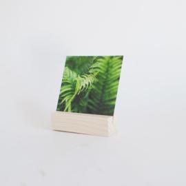 Kaarthouder blokje - 10 cm