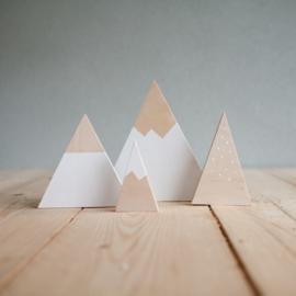 Set houten bergen 13