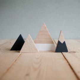 Set houten bergen 14