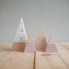 Set houten bergen 7