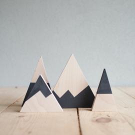Set houten bergen 2