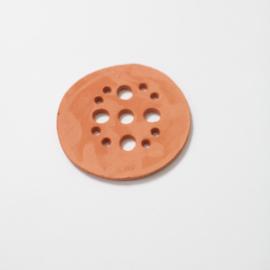 Bloemschikschijf TerraCotta 4 - 10,5cm