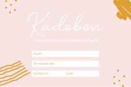 Studio de Rijk Papieren kadobon - Bedrag naar keuze