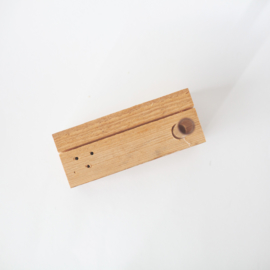Houder van grof hout