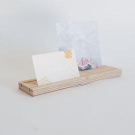 Kaarthouder - 20 cm