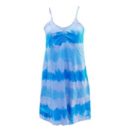 Jurkje Tie Dye - blauw wit - M