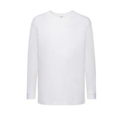 T-shirt lange mouw - wit - kinderen