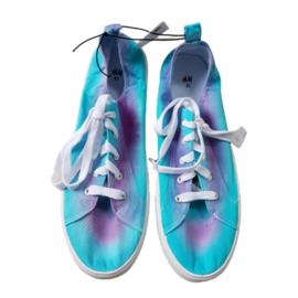 Sneakers lila groen - maat 41