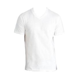 T-shirt wit - v-hals