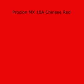 Procion MX - 10A Chinese Red - 20 gram