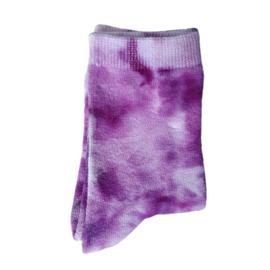 Tie Dye sokken paarstinten 31-34