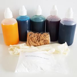 Tie Dye Pakket 5 - zelf samenstellen