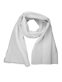 Witte sjaal sweatshirtstof