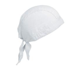 Bandana wit voorgevormd