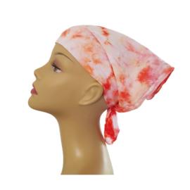 Tie Dye bandana flamingo fantasy