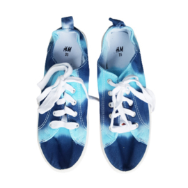 Sneakers blauwtinten - maat 35