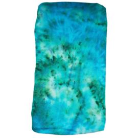 Tie dye hoes voor aankleedkussen oceaan
