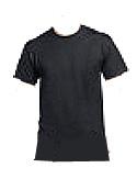 T-shirt zwart - ronde hals