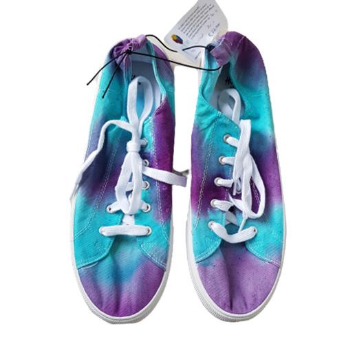 Sneakers lila groen - maat 40