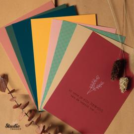 Pakket Laura 8 kaarten