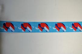 lakenband olifant blauw