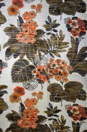 Glass Curtain fabric flower