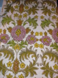 Curtain fabric, floral decor