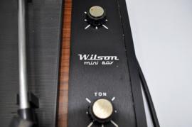 Wilson mini boy platenspeler versterker