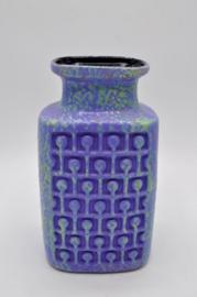 rare vase purple/mint glazing