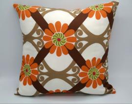 Vintage pillow flower desin 45/45cm