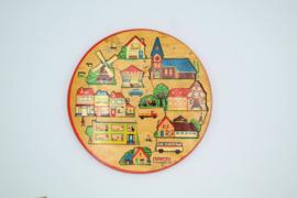 Simplex wooden puzzle