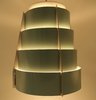 Vintage Lamellen Hang Lamp