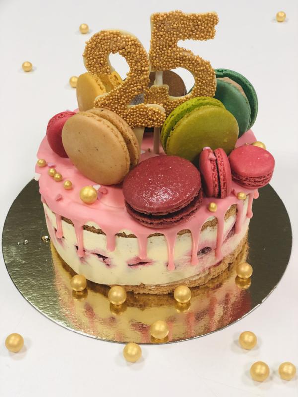 standaard verjaardag's taart