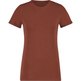 Raizzed Women T-Shirt Orleans Bronze Rust S