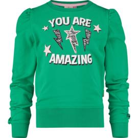 Vingino Girls Sweater Ninsy Grass Green w2 128