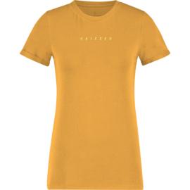 Raizzed Women T-Shirt Hazelle Earth Yellow XS