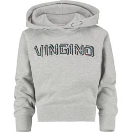 Vingino Girls Sweater Neileen Grey Mele w2 128