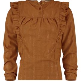 Vingino Girls Longsleeve Laurelle Brown Rust w2 128