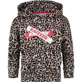 Raizzed Girls Sweater Valencia Sand Animal w2 116