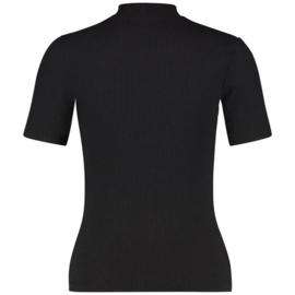 Raizzed Women T-Shirt Havy Deep Black XS