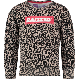 Raizzed Girls Sweater Valletta Sand Animal w2 116